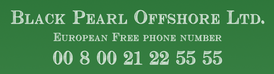 Black Pearl Offshore Ltd.: European Free phone number